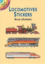 Locomotives Stickers (Dover Little Activity Books Stickers) - LaFontaine, Bruce