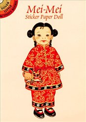 Mei-Mei from China Sticker Paper Doll (Dover Little Activity Books Paper Dolls) - Green, Yuko