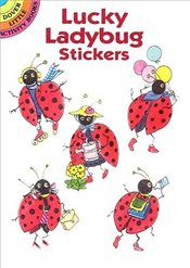 Lucky Ladybug Stickers (Dover Little Activity Books Stickers) - OBrien, Joan
