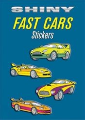Shiny Fast Cars Stickers (Dover Little Activity Books Stickers) - LaFontaine, Bruce