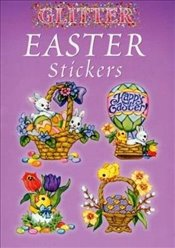 Glitter Easter Stickers (Dover Little Activity Books Stickers) - Barbarest, Nina