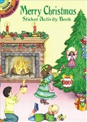 Merry Christmas Sticker Activity Book (Dover Little Activity Books Stickers) - Noble,