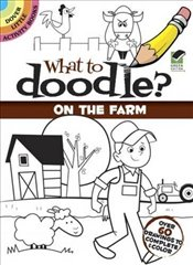 What to Doodle? On the Farm (Dover Little Activity Books) - iHeartMandalas.com, Rob McClurkan founder of