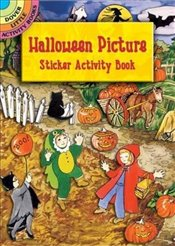 Halloween Picture Sticker Actity: v.i: Vol i (Dover Little Activity Books) - OBrien, Joan