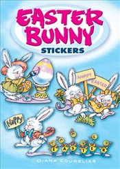 Easter Bunny Stickers (Dover Little Activity Books Stickers) - Zourelias, Diana