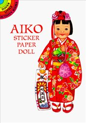 Aiko from Japan Sticker Paper Doll (Dover Little Activity Books Paper Dolls) - Green, Yuko