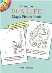 Invisible Sea Life Magic Picture Book (Dover Little Activity Books) - Pomaska, Anna