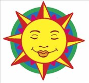 Shiny Sun, Moon and Stars Stickers (Dover Little Activity Books Stickers) - Pomaska, Anna