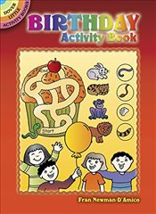Birthday Activity Book (Dover Little Activity Books) - Newman-DAmico, Fran