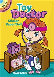Toy Doctor Sticker Paper Doll - Cutting, David