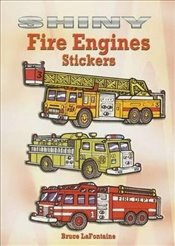 Shiny Fire Engines Stickers (Dover Little Activity Books Stickers) - LaFontaine, Bruce