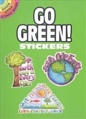 Go Green! Stickers (Dover Little Activity Books Stickers) - Embry, Karen