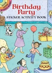 My Birthday Sticker Actity Book: v.i: Vol i (Dover Little Activity Books) - Woodworth, Viki
