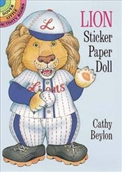 Lion Sticker Paper Doll (Dover Little Activity Books Paper Dolls) - Beylon, Cathy
