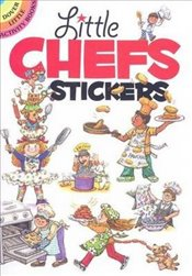 Little Chefs Stickers (Dover Little Activity Books Stickers) - Han, Yu-Mei