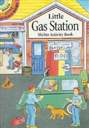 Little Gas Station Sticker Activity Book (Dover Little Activity Books) - Beylon, Cathy
