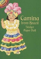 Camina from Brazil Sticker Paper Doll (Dover Little Activity Books Paper Dolls) - Green, Yuko