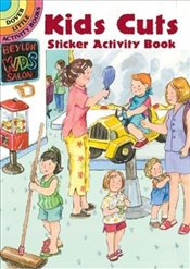 Kits Cuts Sticker Activity Book (Dover Little Activity Books) - Beylon, Cathy