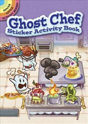 Ghost Chef Sticker Activity Book (Dover Little Activity Books Stickers) - Laberis, Stephanie