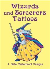 Wizards and Sorcerers Tattoos (Dover Tattoos) - Gottesman, Eric