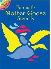Fun with Mother Goose Stencils (Dover Stencils) - Noble, Marty
