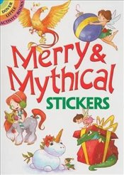 Merry & Mythical Stickers (Dover Little Activity Books Stickers) - Laberis, Stephanie