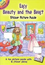 Easy Beauty and the Beast Sticker Picture Puzzle (Dover Little Activity Books) - Beylon, Cathy