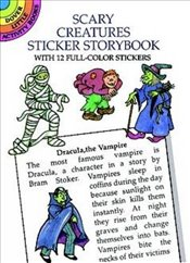 Scary Creatures Sticker Storybook (Dover Little Activity Books) - Beylon, Cathy