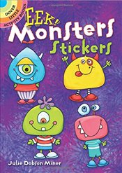 EEK! Monsters Stickers (Dover Little Activity Books Stickers) - Miner, Julie