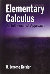 Elementary Calculus (Dover Books on Mathematics) - Keisler, H. Jerome