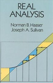 Real Analysis (Dover Books on Mathematics) - Haaser, Norman B.