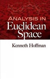 Analysis in Euclidean Space (Dover Books on Mathematics) - Hoffman, Kenneth