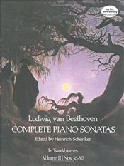 Beethoven Piano Sonatas: Series 2: 002 (Dover Music for Piano) - Beethoven, Ludwig Van