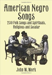 American Negro Songs Pf (Dover Books on Music) - Various,