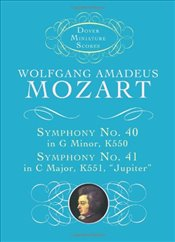 Symphony No.40 in G Minor (Dover miniature scores) - Mozart, Wolfgang Amadeus