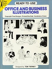Ready-to-Use Office and Business Illustrations (Dover Clip Art Ready-to-Use) - Tierney, Tom