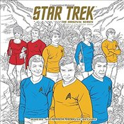 Star Trek : The Original Series Adult Coloring Book : Where No Man Has Gone Before - CBS,
