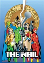 JLA The Nail Another Nail Deluxe Edition HC   - Davis, Alan