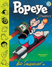 Popeye Classics, Vol. 10: Moon Rocket and more - Sagendorf, Bud