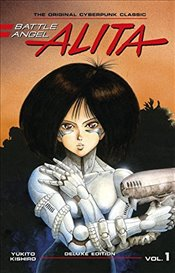 Battle Angel Alita Deluxe Edition 1 - Kishiro, Yukito