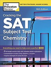 Cracking the SAT Chemistry Subject Test : 16e -