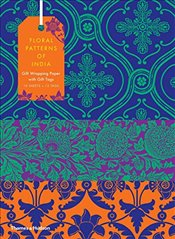 Floral Patterns of India : 10 Sheets of Wrapping Paper With 12 Gift Tags - Wilson, Henry