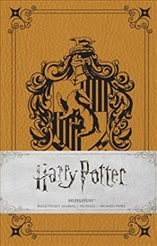 Harry Potter Hufflepuff Hardcover Ruled  -
