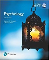 Psychology 5e PGE with MyPyschLab - Ciccarelli, Saundra