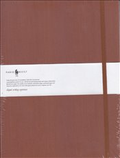 Fabio Ricci - Ruled Notebook 19x25 80yp. (Kiremit) -