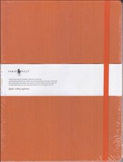 Fabio Ricci - Ruled Notebook 19x25 80yp. (Turuncu) -