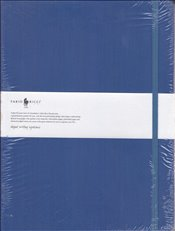 Fabio Ricci - Ruled Notebook 19x25 80yp. (Lacivert) -