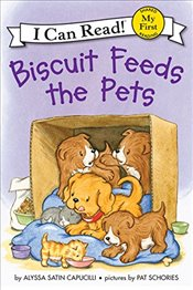 Biscuit Feeds the Pets (My First I Can Read) - Capucilli, Alyssa Satin