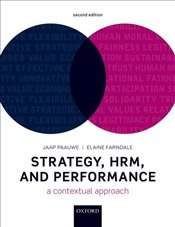 Strategy, HRM, and Performance : A Contextual Approach 2e - Paauwe, Jaap