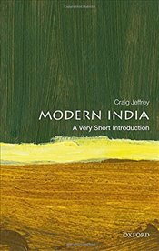 Modern India : A Very Short Introduction - Jeffrey, Craig